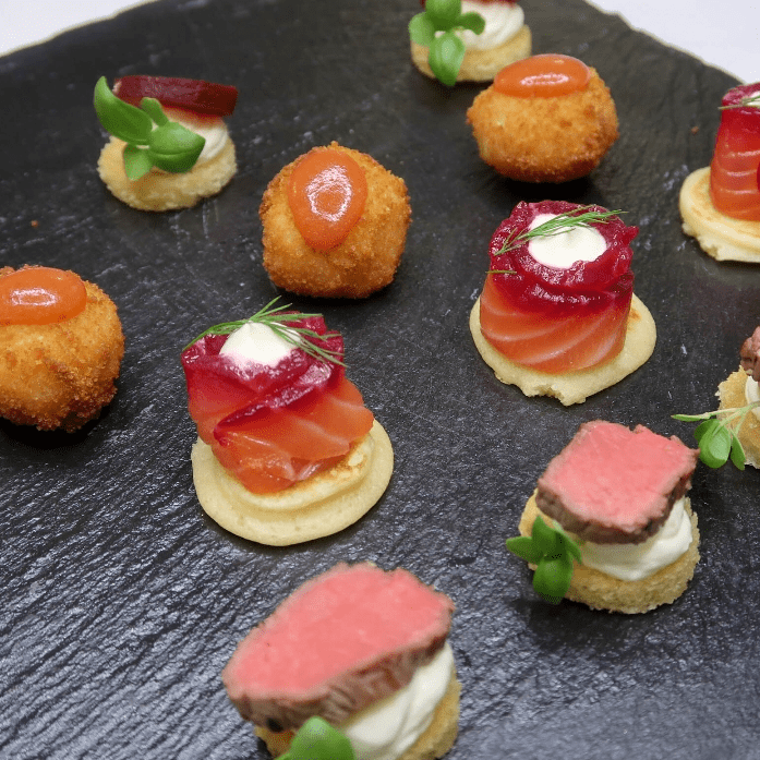 Canapes | Canape Catering | Essex and Suffolk Caterers | Plenty of Thyme