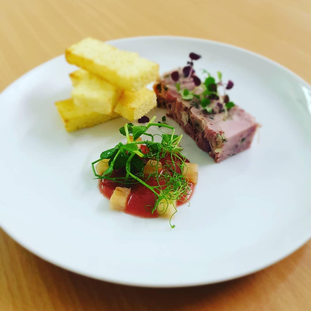 Event catering Essex ham hock Plenty of Thyme