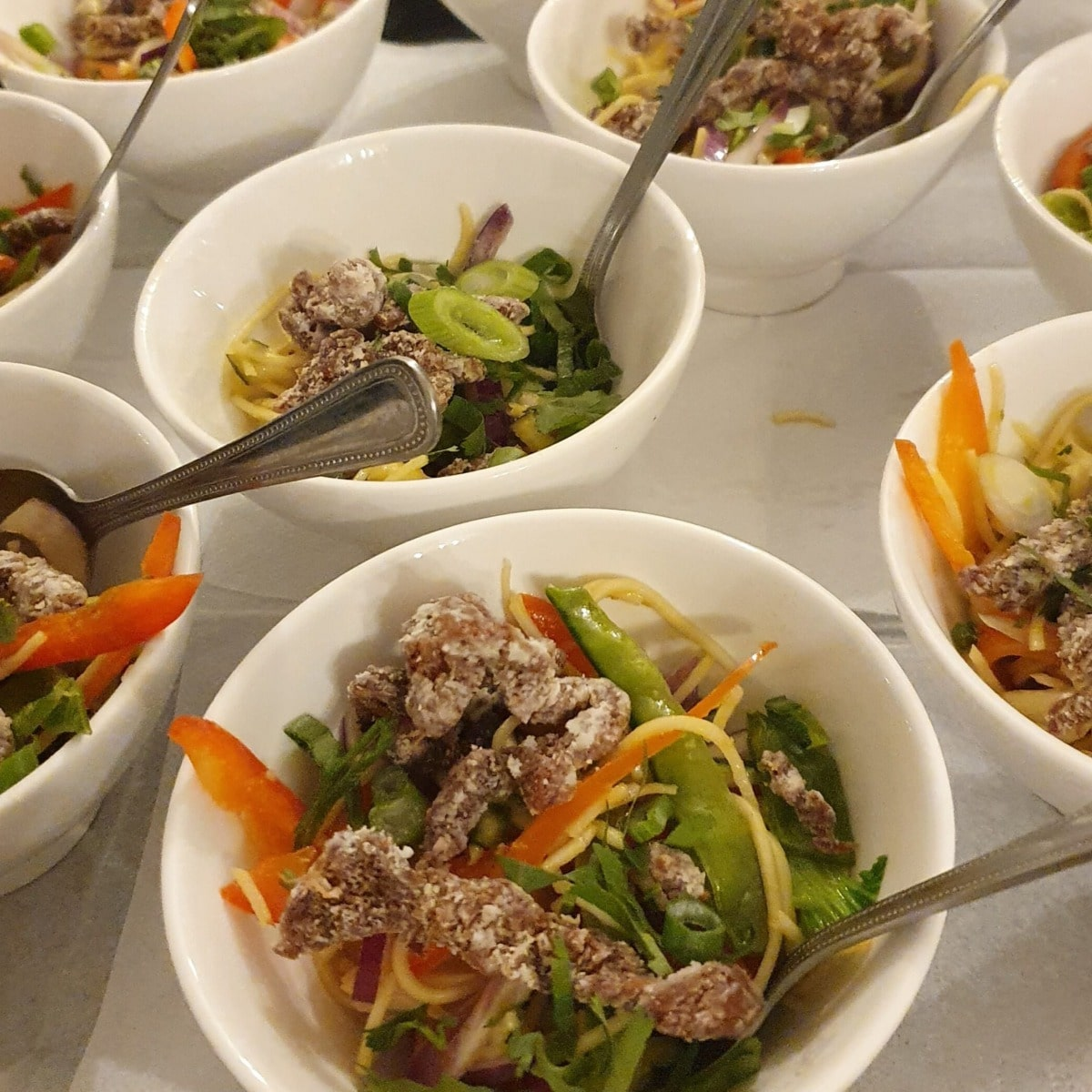 Bowl Food Catering - Plenty of Thyme
