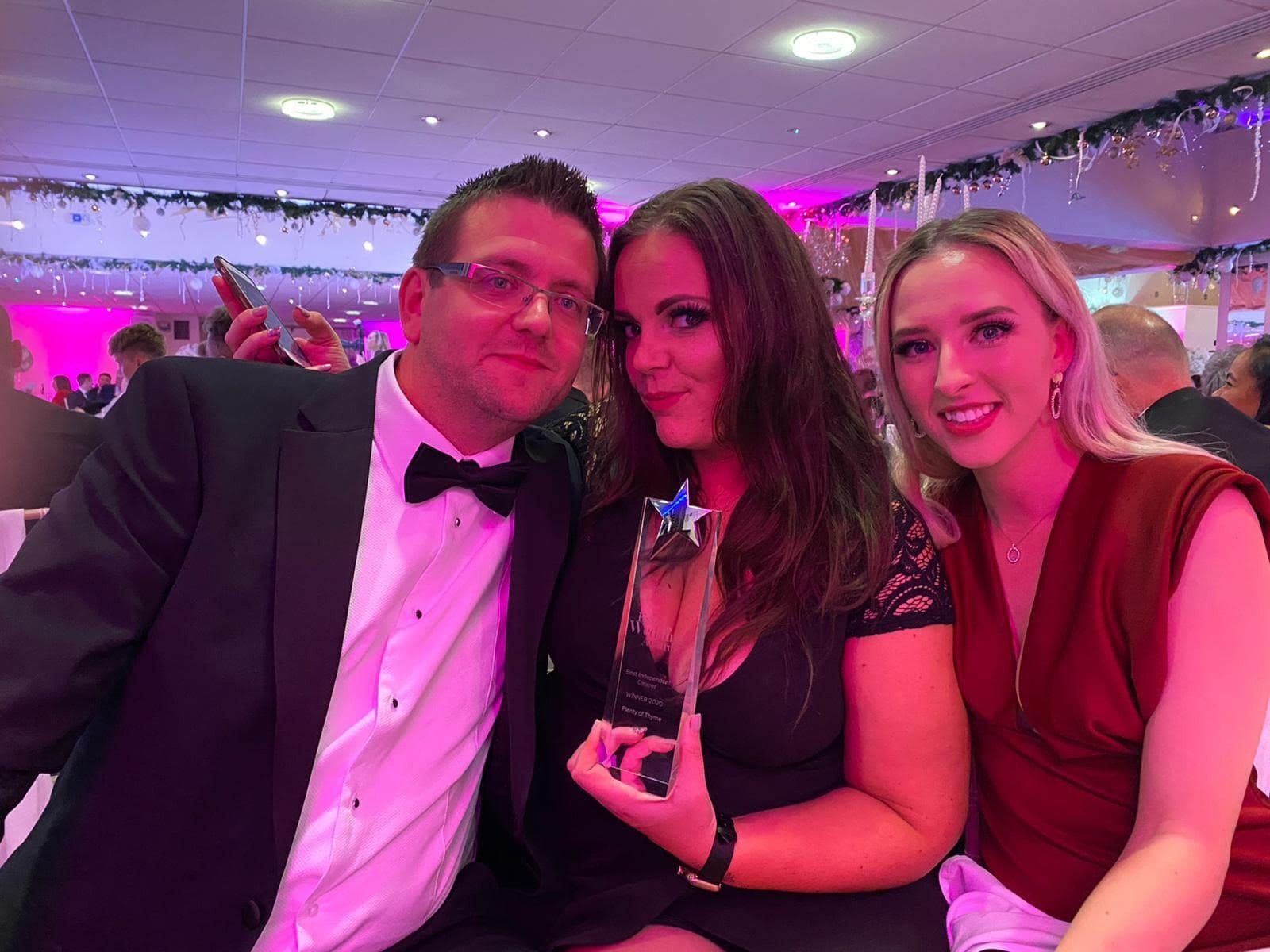 catering companies Essex Award winners group image