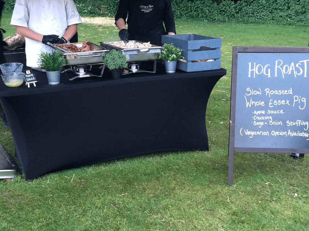 Corporate Caterers - Hog Roast - Plenty of Thyme