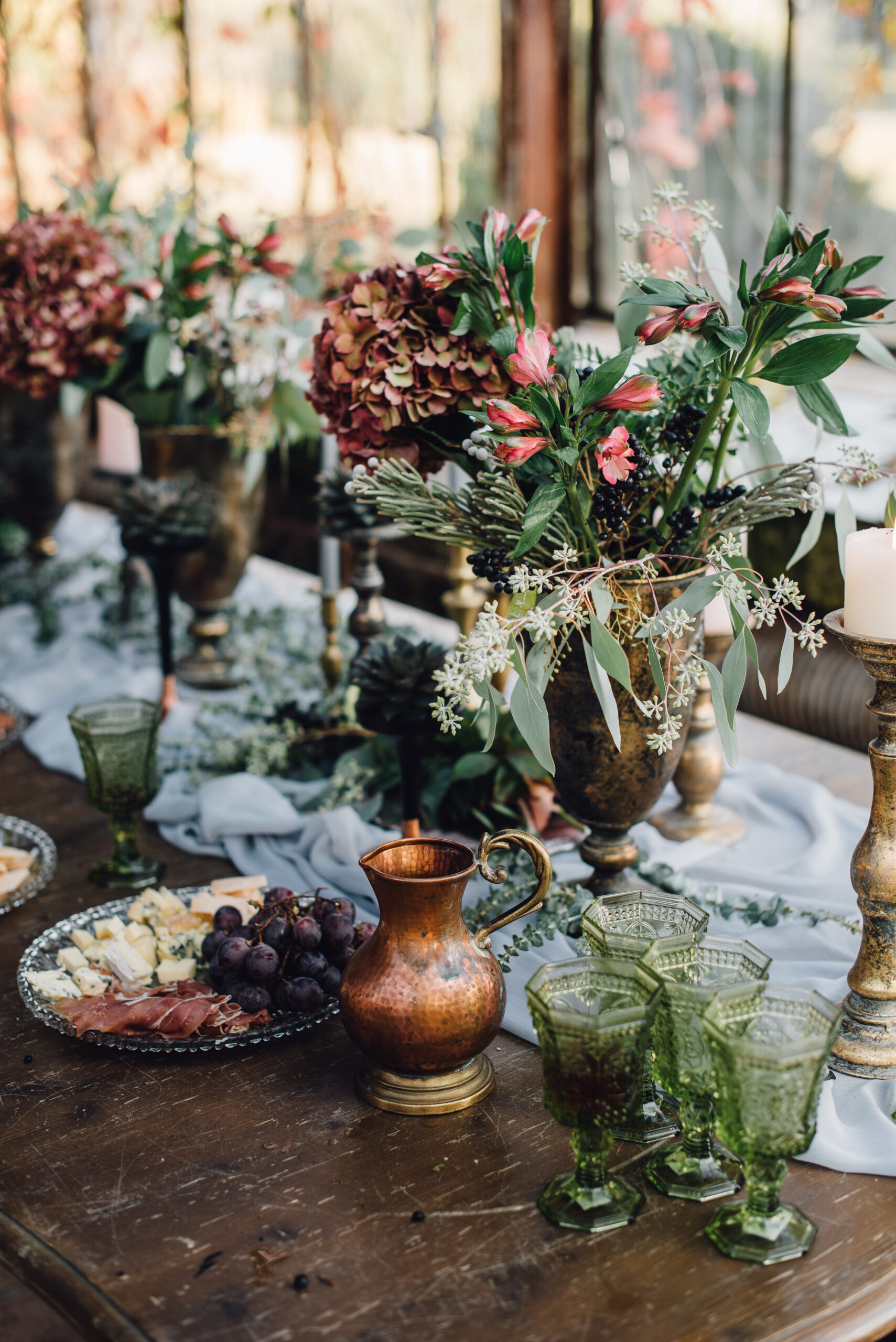 wedding caterers Suffolk | Autumn table