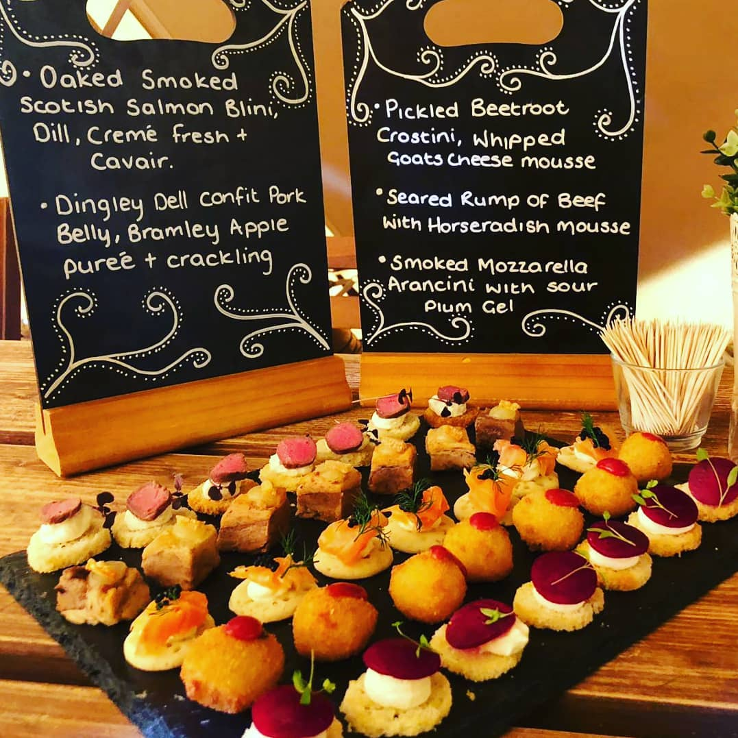 Office Christmas Party - Plenty Of Thyme Canape Catering